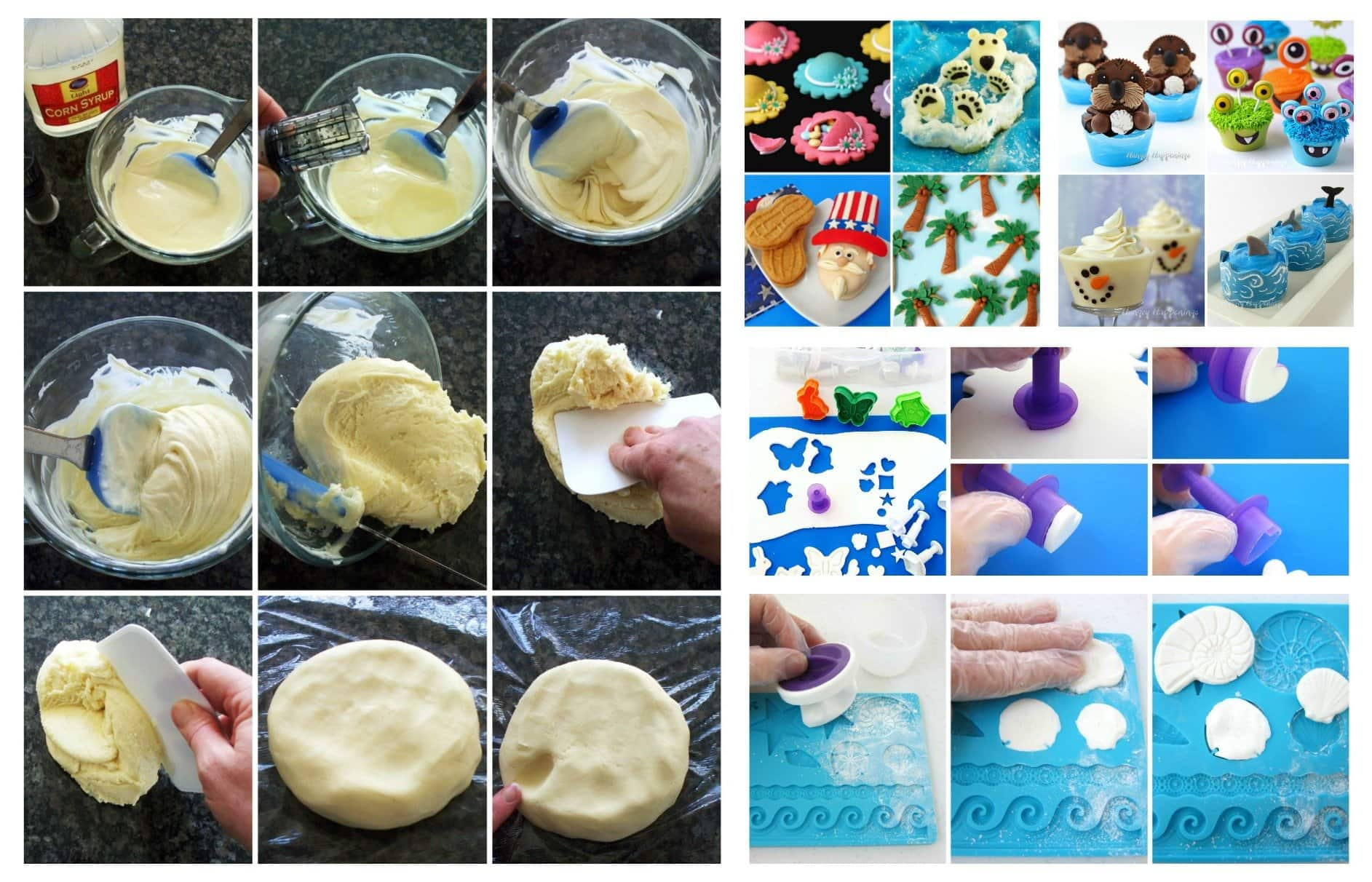 Learn how to make and decorate with candy clay in the new book, Candy Clay Creations.