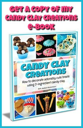 The ultimate guide to making and decorating with candy clay. This 118 page ebook is filled with tips, tricks, and tutorials.