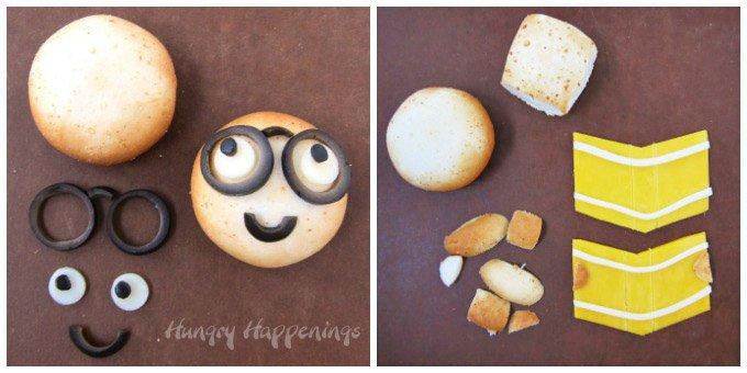 How to turn Farm Rich Mozzarella Bites into cute bookworms for a back to school snack. Farm Rich Mozzarella Bites