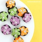 Oreo Monsters make fun Halloween treats for kids. Each Oreo Cookie Monster is easy to make and fun to eat.