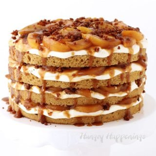 Peach Cobbler Layer Cake