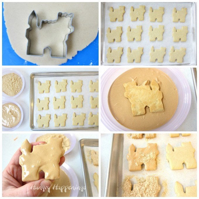 How to make Peanut Butter Sand Castle Cookies for your beach party.