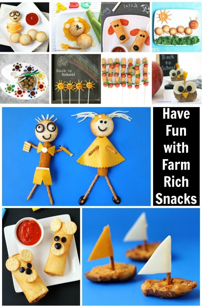 Farm Rich Back to School Snacks