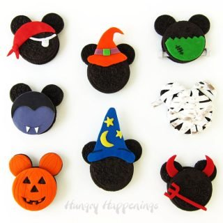 Halloween Mickey Mouse Oreo Cookies