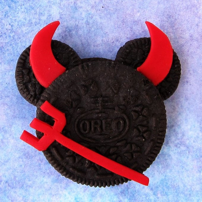 Mickey Mouse Devil Cookies