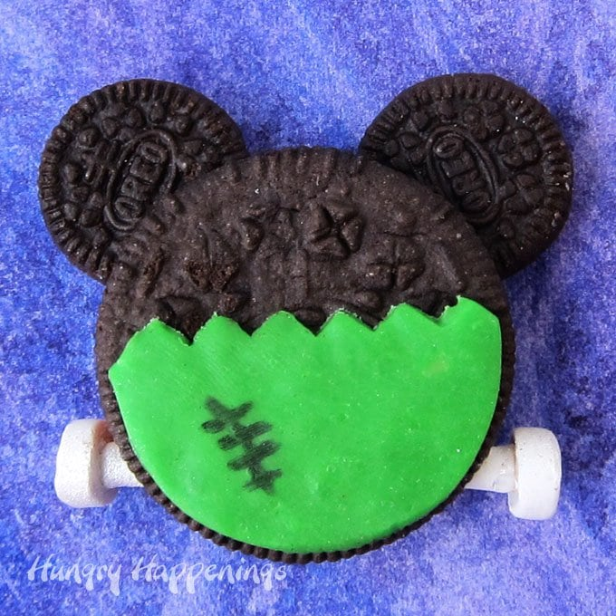 Frankenstein's Monster Mickey Mouse Oreo