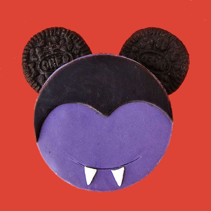Mickey Mouse Vampire Oreo Cookies