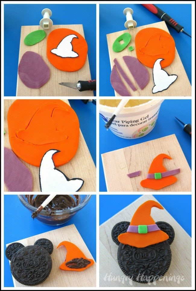 How to make a Minnie Mouse Witch Cookie