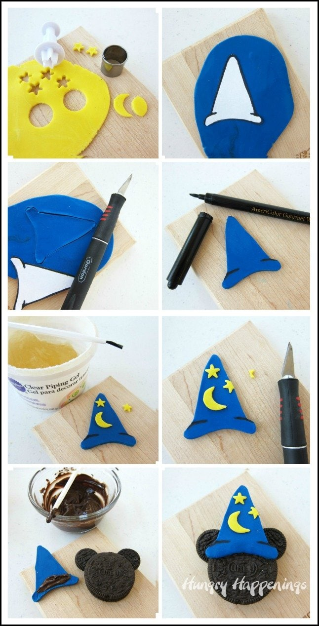 How to make a Mickey Mouse Wizard Oreo Cookie
