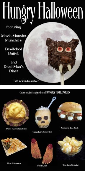 Hungry Halloween featuring fun food for your Halloween parties.