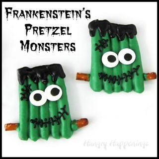 Frankenstein's Pretzel Monsters – Halloween Treats
