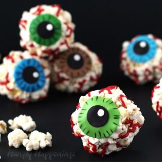 Popcorn EYEballs – Halloween Treats