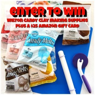 Holiday Giveaway – Enter to Win Candy Making Supplies and Amazon Gift Cards