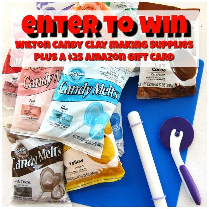 Wilton candy clay making supplies.