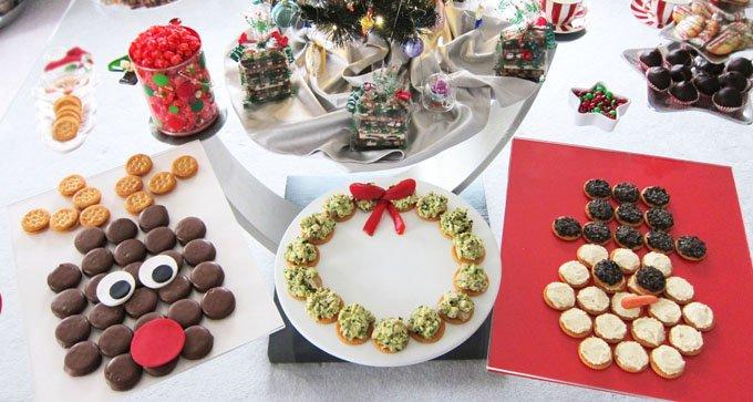 Ritz Crackers Christmas Snacks Rudolph Snowman Wreath Video