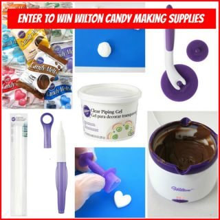 BIG Holiday Giveaway – Enter to Win Wilton Candy Making Supplies