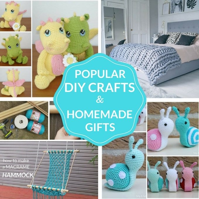 Popular Diy Crafts Handmade Gifts Hungry Happenings