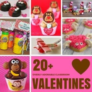 20 Adorable Classroom Valentines