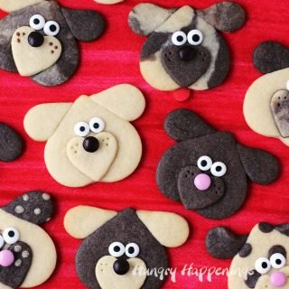 Puppy Love Cookies make cute treats for Valentine's Day