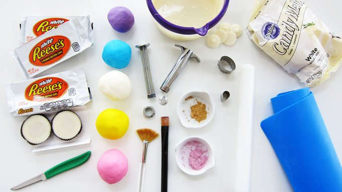 You'll need these tools and ingredients to make your own Magical Unicorn Reese's Cup Cupcakes