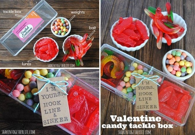 This Valentine's Day Candy Tackle Box is the cutest classroom treat ever
