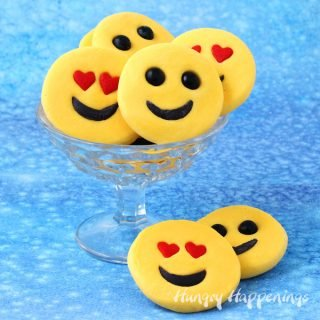 Easy Fudge Emoji make fun treats for Valentine's Day or any day!