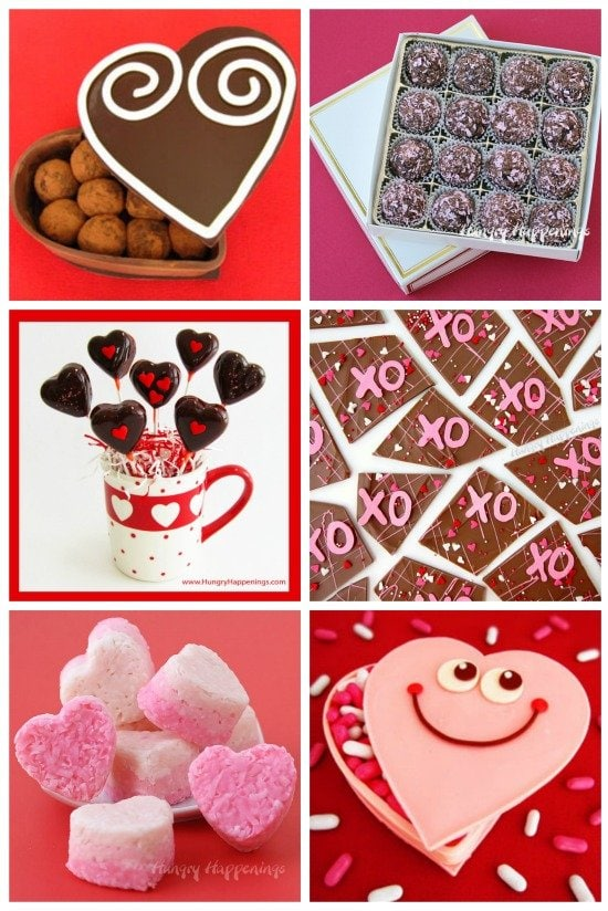 Give your sweetheart a handmade chocolate gift for Valentine's Day. See the instructions to make these sweet treats at HungryHappenings.com.