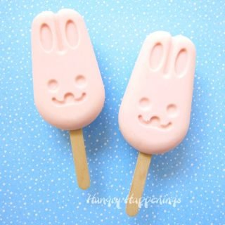 Frozen Yogurt Bunny Pops – A fun 2-ingredient Easter Treat