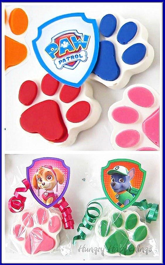 Rainbow Paw Patrol Cookies N Cream Paws Fun Party Favors