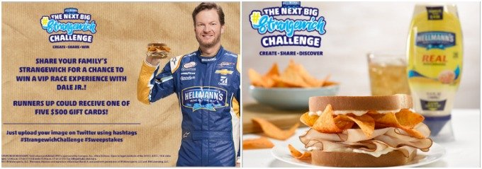 Enter to win The Next Big Strangewich Challenge.