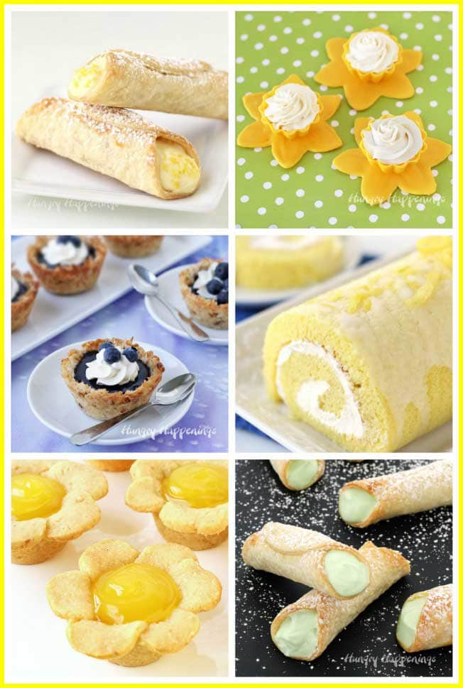 Lemon, lime, and blueberry curd desserts are perfect recipes to make in the spring and summer.