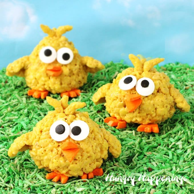 Rice Krispie Treat Chicks A Fun Amp Easy Easter Treat Your
