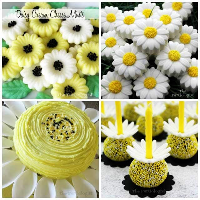 Daisy Candy, Chocolates, and Cake Pops