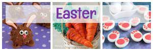 Easter Recipes and fun food crafts