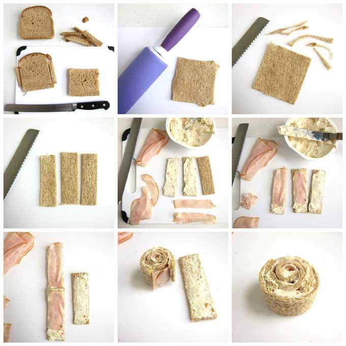 how to make a grad cap sandwich