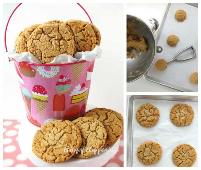 soft chewy peanut butter cookies recipe