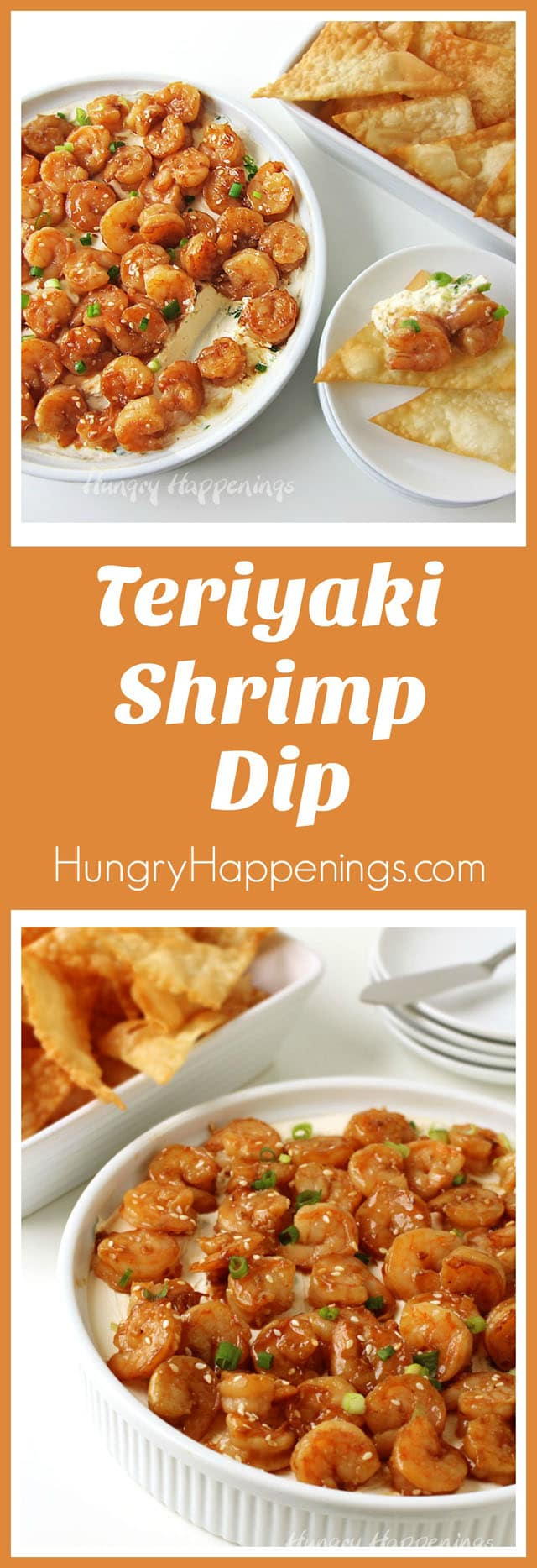 Sauté shrimp in P.F. Chang's® Home Menu Teriyaki Sauce to make this fantastic Teriyaki Shrimp Dip. It's super easy to make and your family and friends will love it!