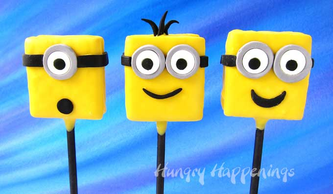Chocolate Smores Minion Lollipops Despicable Me Party Snacks