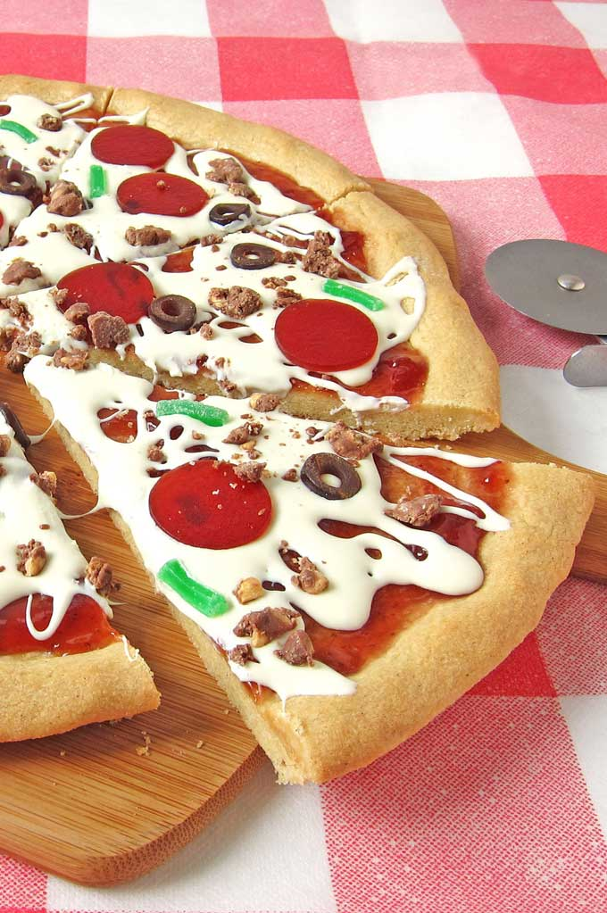 Cookie Pizza pepperoni