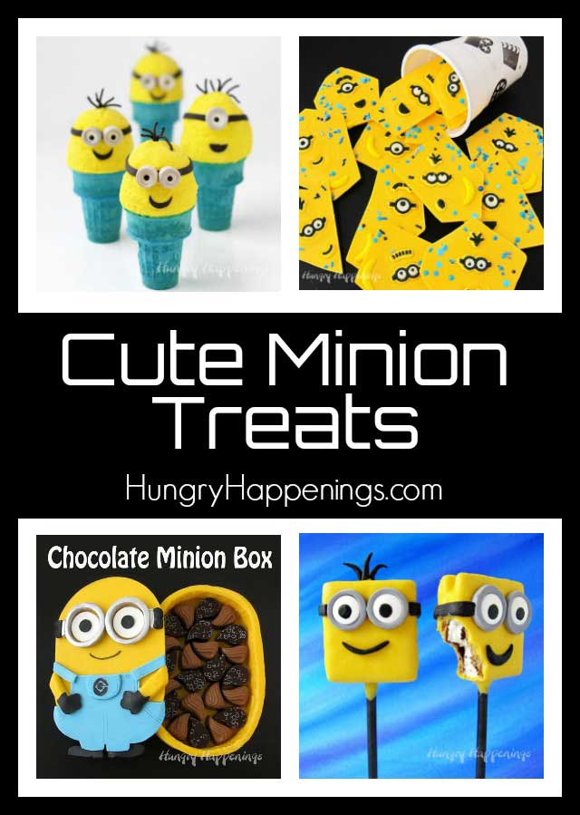Cute Minion Treats for your Despicable Me Party