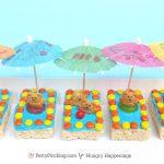 Summer Fun Treats - Kiddie Pool Krispies