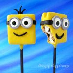 S'mores Minion Lollipops Party Snacks