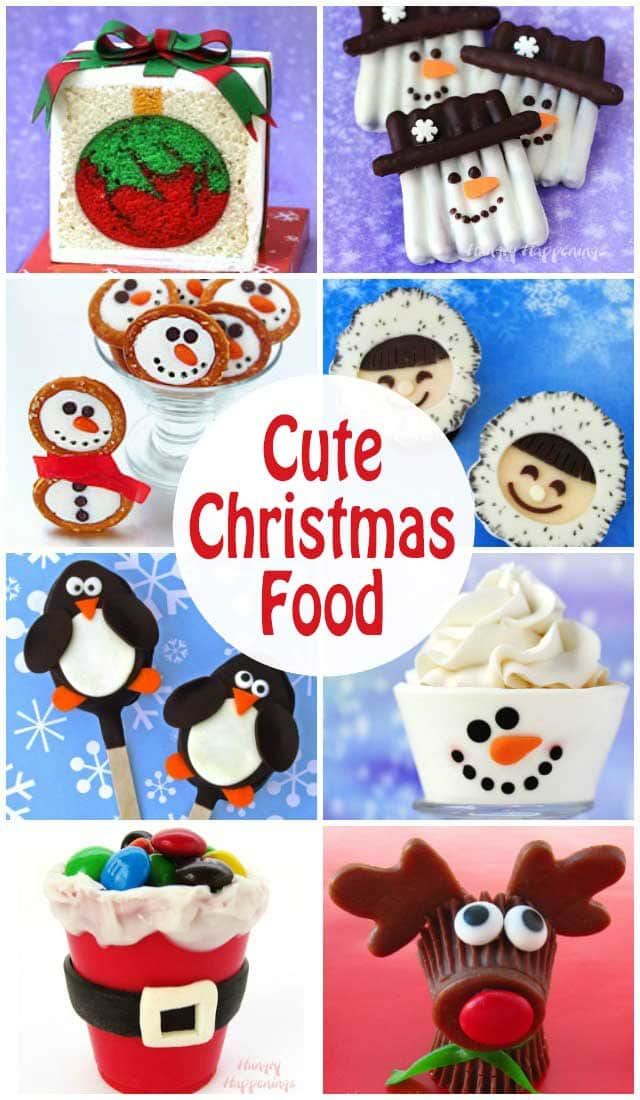 find over 100 wonderful christmas recipes to make cute desserts festive party food and - Cute Christmas Pics