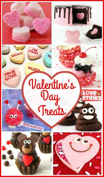 50+ amazing Valentine's Day Recipes that you will love. Show how much you care by serving some romantic appetizers, cute treats, and decadent desserts.