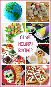 Other Holiday Recipes Mother's Day, Father's Day, Cinco de Mayo, April Fools Day