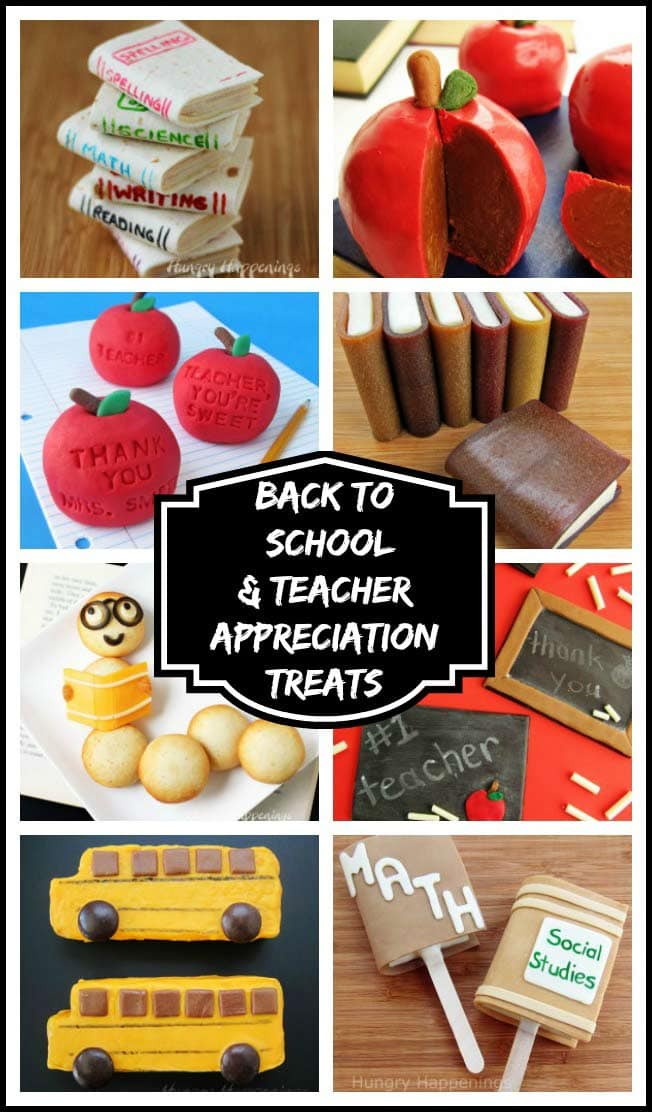 Whether you want to surprise your kids when they head back to school or thank a teacher for a job well done, these cute school and teacher's treats will score you an A+.