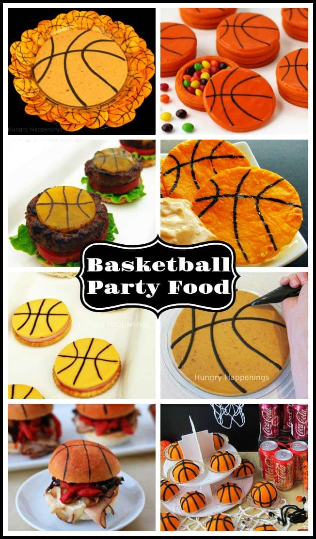 Score big with basketball fans everywhere when you serve them these basketball themed snacks and desserts at a March Madness party. These fun March Madness Recipes will make your party guests cheer.