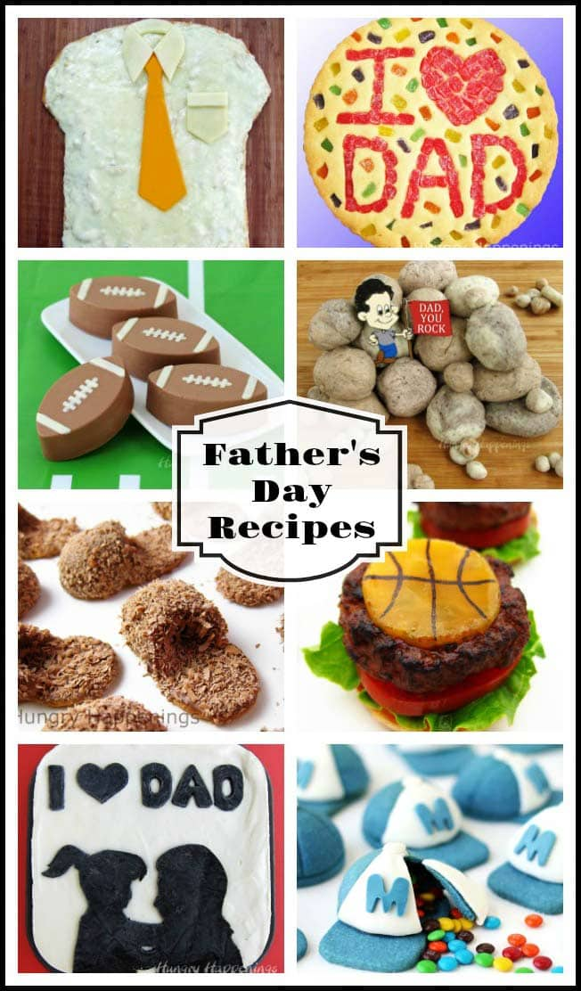 Make your dad feel special on Father's Day by making him a cute edible craft. Each of these Father's Day Recipes include tutorials to show you how to create some festive desserts, snacks, and meals for your number one dad.