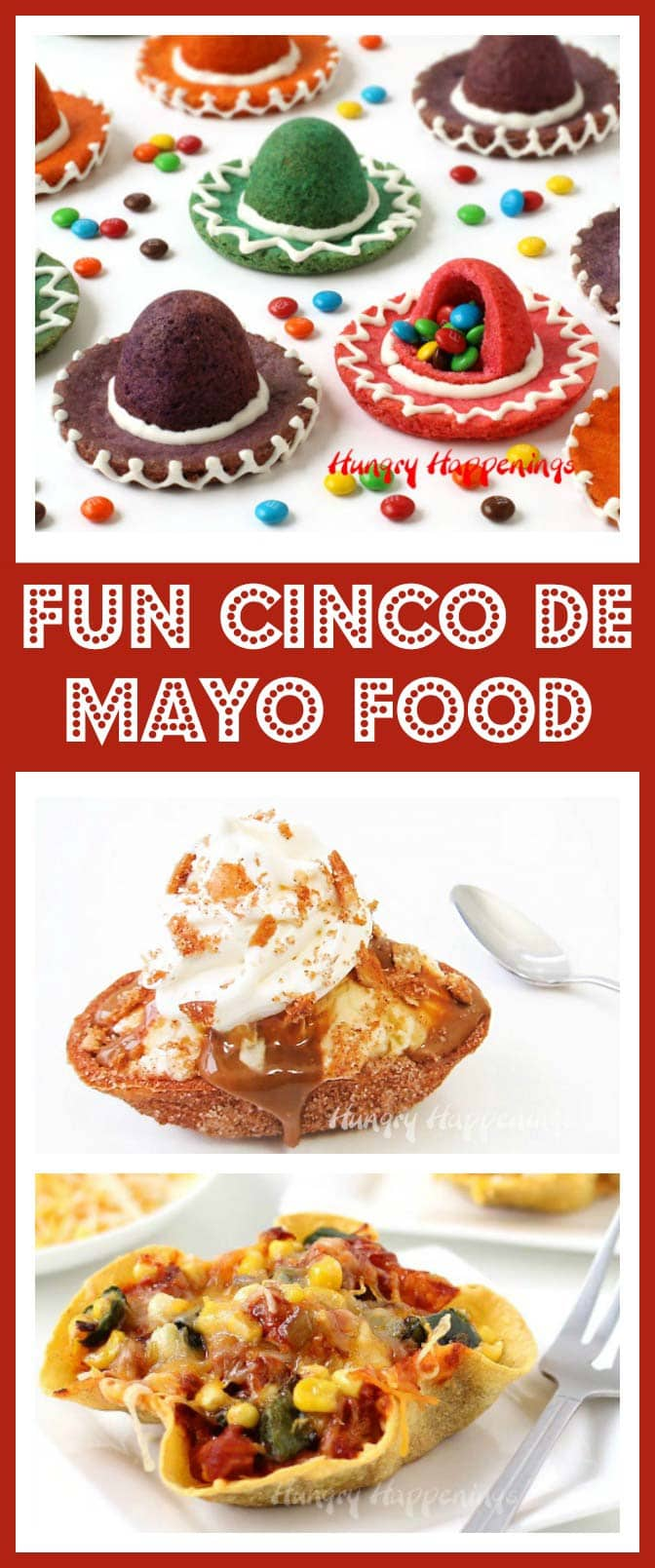 Celebrate the 5th of May by creating some festive Cinco de Mayo recipes. This colorful holiday deserves some equally colorful food.