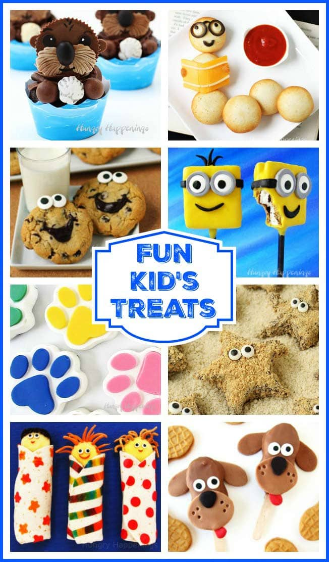 Find over 100 cute and tasty kid's treats that are as much fun to make as they are to eat. Choose from cookies, cupcakes, popsicles, pretzels, and more.